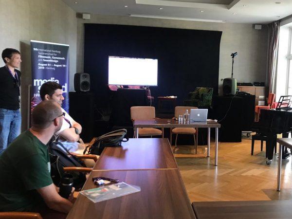 Meisterkurse und Foren für Filmmusik, Sound Design und Games Musik